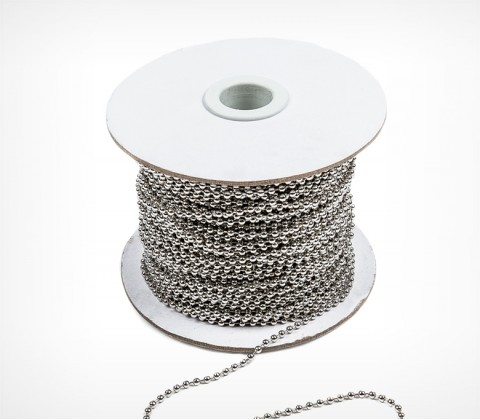 Шариковая металлическая цепь