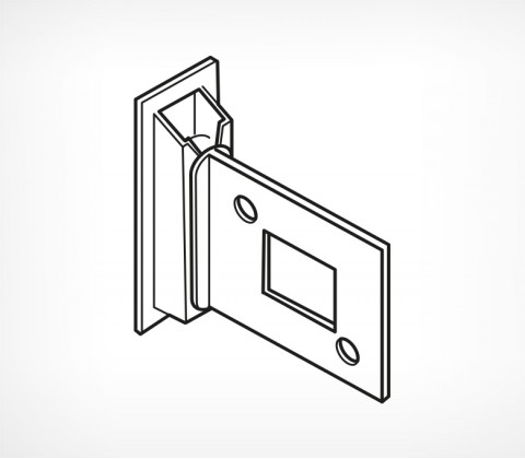 Съемный держатель картонной полки