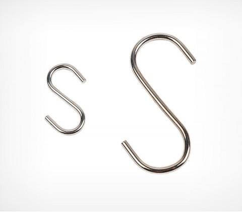Металлический S-образный крючок