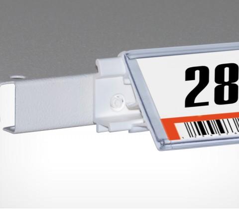 Ценникодержатель пластиковый полочный LF.