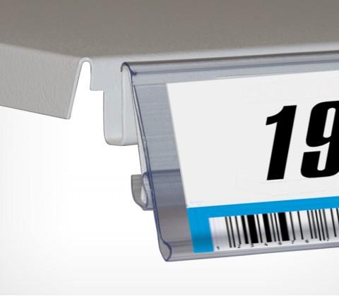 Ценникодержатель пластиковый полочный TEN.