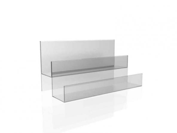 Пластиковая горка для витрины. gor6