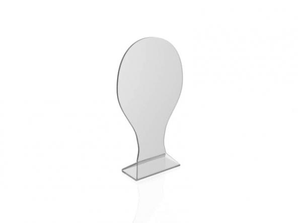 Пластиковая подставка под головной убор shap001