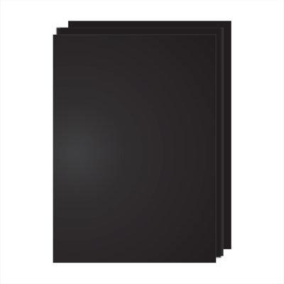 Меловая доска без рамы 90х60см, Окрашенная, односторонняя