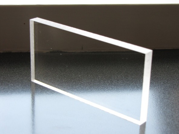Оргстекло. прозрачный пластик 8 мм.