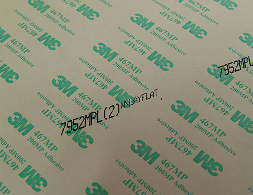Двусторонний листовой прозрачный скотч 3M 7952МРL