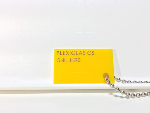 Желтое оргстекло Плексиглас 1Н20