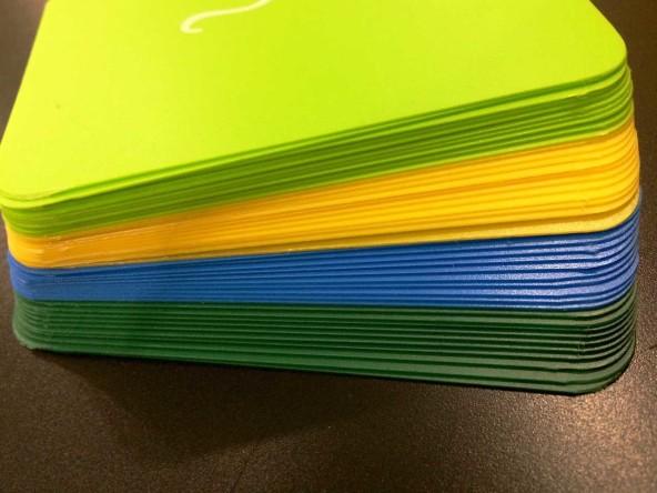 Цветные меловые ценники  А7