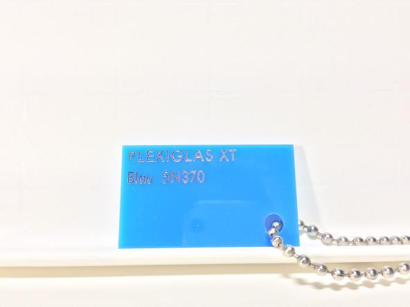 Голубое светорассеивающее оргстекло Плексиглас 5N370