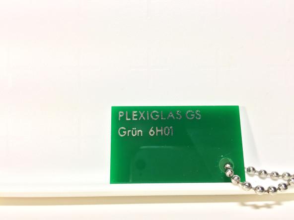 Зеленое оргстекло Плексиглас 6H01