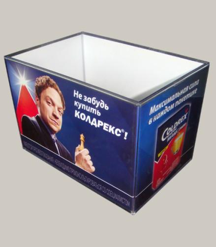 Коробка для чеков пластиковая