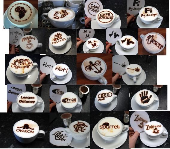 Трафарет для кофе