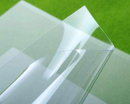 Пластиковый лист ПЭТ Novattro, 0,7 мм, прозрачный,  2,05х1,25м,