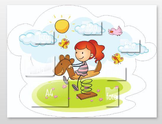 Информационный стенд для детского сада SD0060